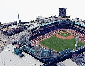 3D asset Fenway Park Stadium