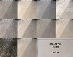 3D model Marble Floor Set Collection 60 - 69 Texture