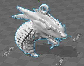 3D printable model Dragon 5 Keychain