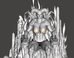 3D print model Demone regina