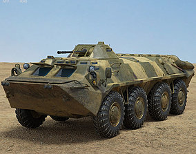 BTR-70 3D armored