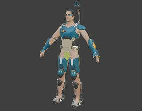 Baptiste armor from Overwatch 3D printable model