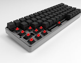 custom keycaps 3D model