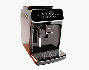 3D asset game-ready Coffee Machine Philips