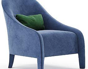 3D model FENDI FF Audrey armchair