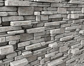 3D model White stone decorative panel