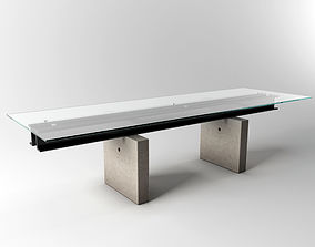 Roche Bobois Less is more dining table 3D model