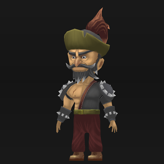Mobile Game -Ready Character (HandPaint)