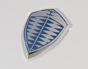 Koenigsegg Emblem 3D model