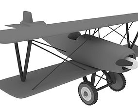 Fixed Wing Plane 3D model