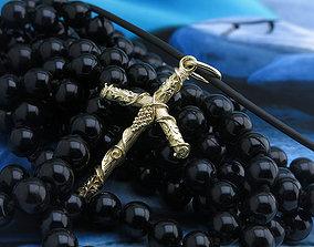 precious Luxury Georgian Cross 3D Print Model