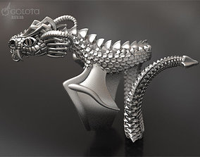 3D print model Scary Dragon ring - original
