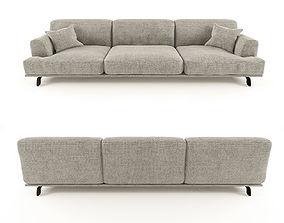 3D model Modular sofa Tribeca