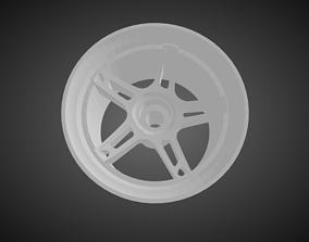 Forgiato Affilato rims for Hot Wheels 3D print model