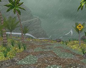 3D Tropical storm