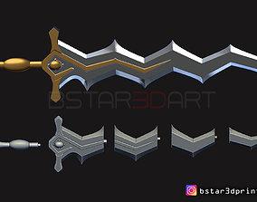 3D print model Fire Emblem Awakening Robin Levin Sword - 2