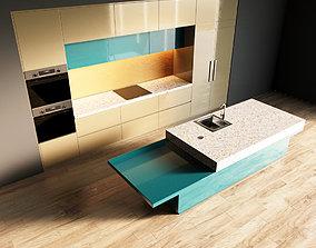3D model 109-Kitchen1 glossy 10
