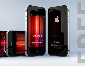iPhone 4 3D model FREE download