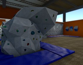 Climbing Hall Environment Pack 3D asset VR / AR ready