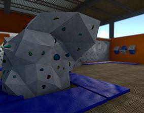 Climbing Hall Environment Pack 3D asset
