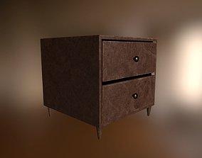 Simple PBR NightStand 3D asset