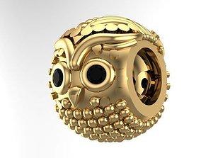 owl charm ball 3D printable model