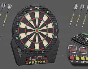 Dart Board 3D asset PBR