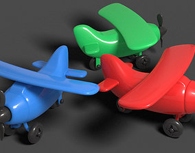 Toy airplane 3D print model