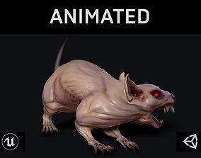 3D asset Mutant Rat