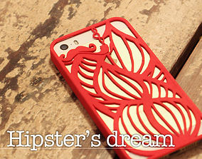 Hipster s dream case for iPhone 5 3D printable model