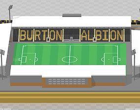 Burton Albion - Pirelli Stadium 3D print model