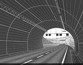 Tunnel with Terrain 3D model