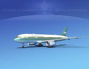 3D Boeing 787-8 Pakistan Intl