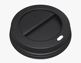 3D model Plastic coffee lid