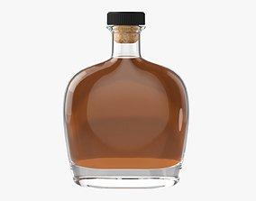 3D Whiskey bottle 11