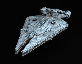 3D model Star Wars Arquitens-class Light Cruiser