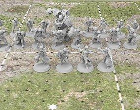The Black Cross Worshippers - Human 3D print model 2