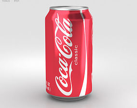 Coca-Cola Can 12 FL 3D model