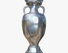 3D Trophy soccer cup