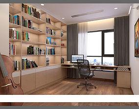 3D model Apartment studyroom