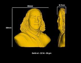 Benjamin Franklin Bust 3D print model