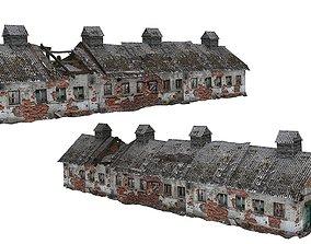 Old house Kolkhoz 02 03 3D asset