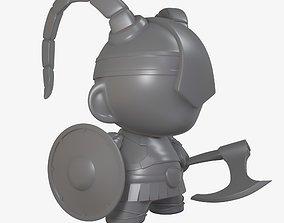 munny world viking 3D print model