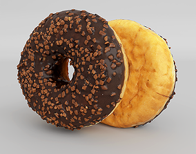 Photorealistic Doughnut 3D model