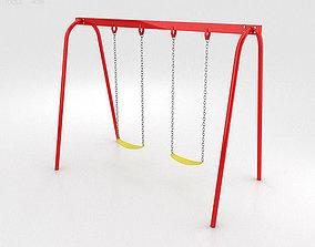 3D model Two Swing Seats