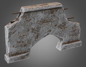 3D model Modular Wall 04 Pbr - Pbr Game Ready