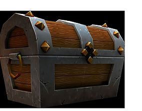 other 3D asset VR / AR ready Treasure Chest