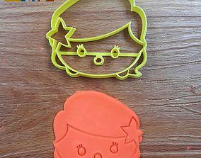 Disney Princess Ariel Tsumtsum stl file 3D printable model