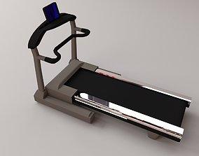 3D model jogging Treadmill