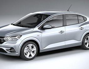 3D Dacia Logan 2021
